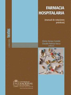 cover image of Farmacia hospitalaria (manual de rotaciones prácticas)