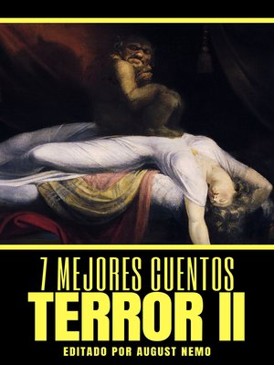 cover image of 7 mejores cuentos--Terror II