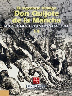 cover image of El ingenioso hidalgo don Quijote de la Mancha, 14