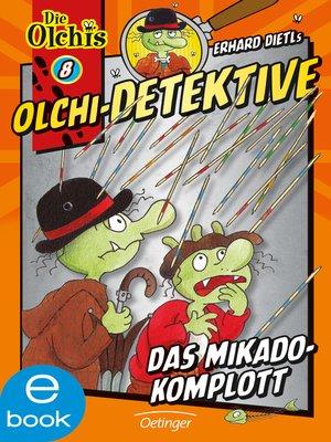 cover image of Das Mikado-Komplott