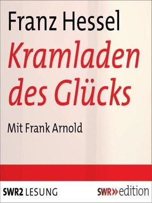 cover image of Der Kramladen des Glücks