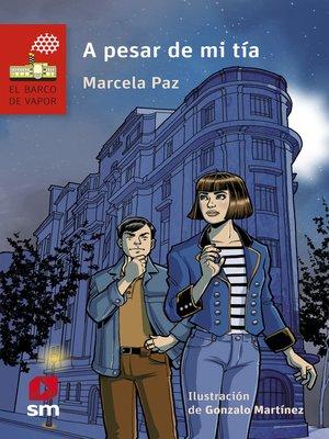 cover image of A pesar de mi tía