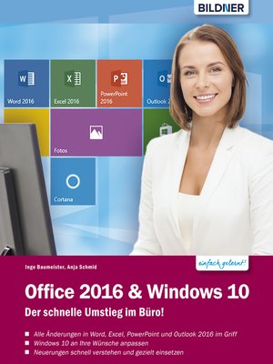 cover image of Office 2016 und Windows 10
