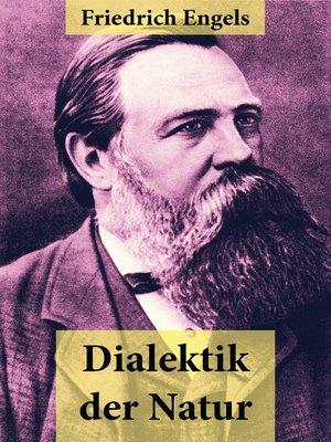 cover image of Dialektik der Natur