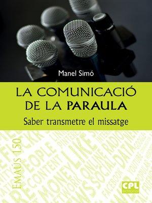 cover image of La comunicació de la Paraula