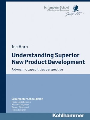 cover image of Understanding Superior New Product Development