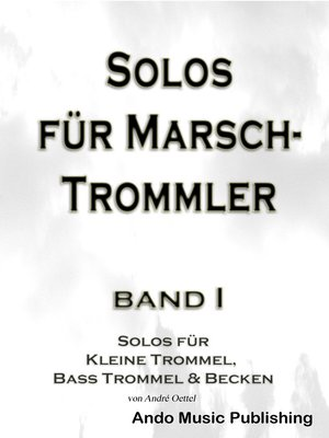 cover image of Solos für Marschtrommler--Band 1