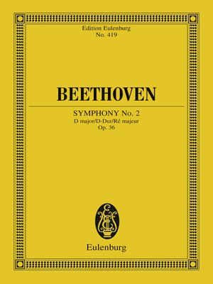 cover image of Symphony No. 2 D major