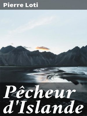 cover image of Pêcheur d'Islande