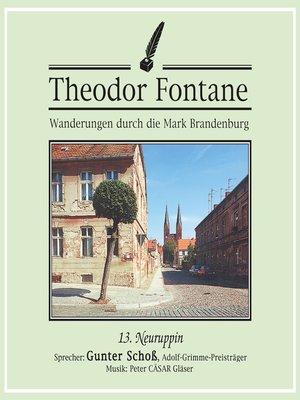 cover image of Wanderungen durch die Mark Brandenburg (13)