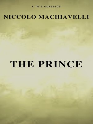 cover image of The Prince (Free AudioBook) (A to Z Classics)