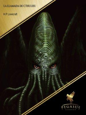 cover image of La llamada de Cthulhu
