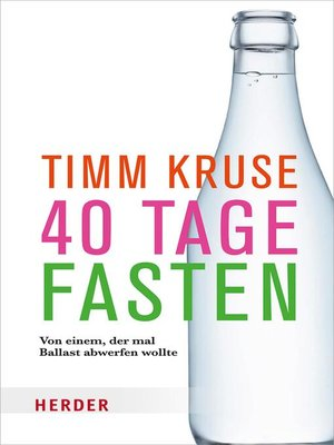 cover image of 40 Tage fasten