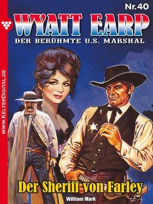 cover image of Wyatt Earp 40 – Western