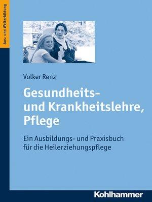 cover image of Gesundheits- und Krankheitslehre, Pflege
