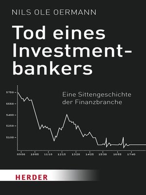cover image of Tod eines Investmentbankers