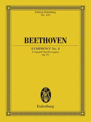 cover image of Symphony No. 8 F major