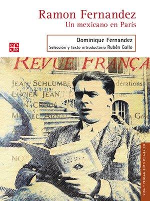cover image of Ramon Fernandez