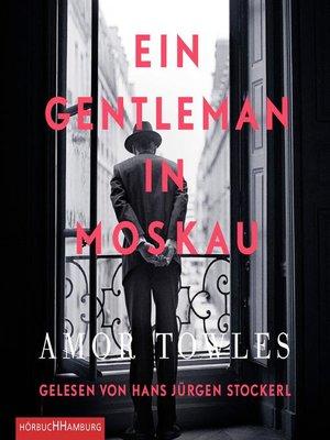 cover image of Ein Gentleman in Moskau