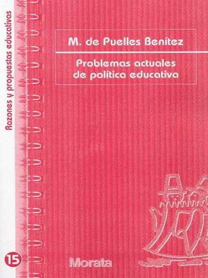 cover image of Problemas actuales de política educativa