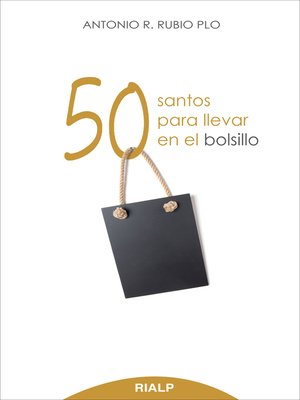 cover image of 50 santos para llevar en el bolsillo