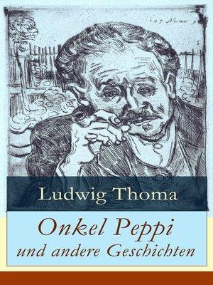 cover image of Onkel Peppi und andere Geschichten