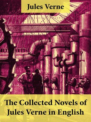 cover image of The Collected Novels of Jules Verne in English
