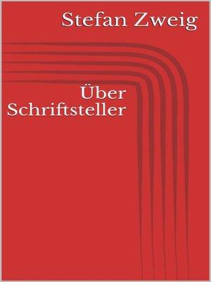 cover image of Über Schriftsteller