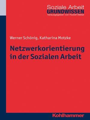 cover image of Netzwerkorientierung in der Sozialen Arbeit
