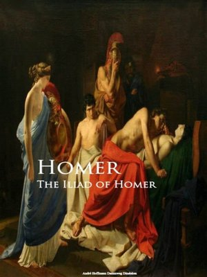 cover image of The Iliad of Homer