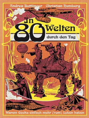 cover image of In 80 Welten durch den Tag