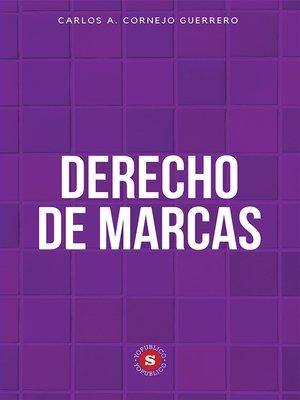 cover image of Derecho de Marcas