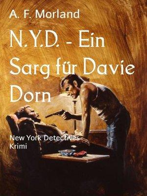 cover image of N.Y.D.--Ein Sarg für Davie Dorn