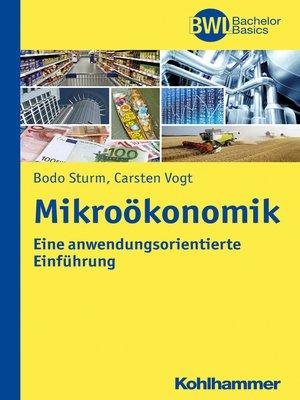 cover image of Mikroökonomik