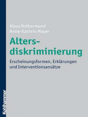 cover image of Altersdiskriminierung