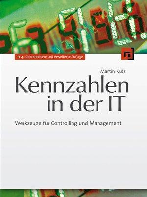 cover image of Kennzahlen in der IT