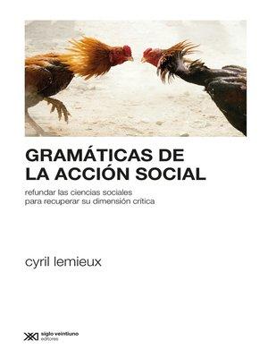 cover image of Gramáticas de la acción social