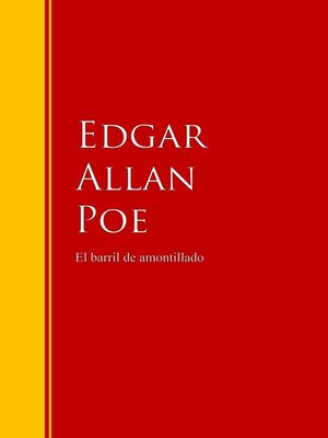 cover image of El barril de amontillado