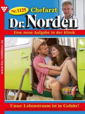 cover image of Chefarzt Dr. Norden 1125 – Arztroman
