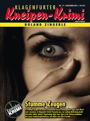 cover image of Stumme Zeugen