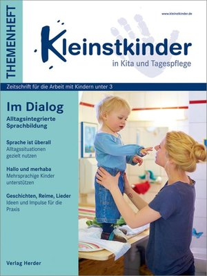 cover image of Im Dialog--Alltagsintegrierte Sprachbildung