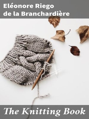 cover image of The Knitting Book
