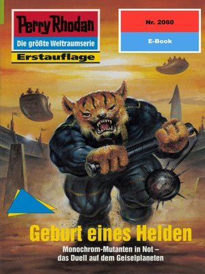 cover image of Perry Rhodan 2060