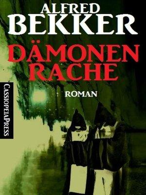 cover image of Dämonenrache (Roman)
