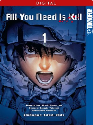 cover image of All You Need Is Kill 01