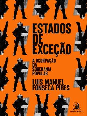 cover image of Estados de exceção