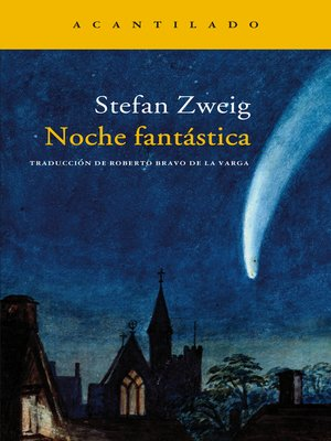 cover image of Noche fantástica