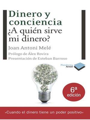 cover image of Dinero y conciencia