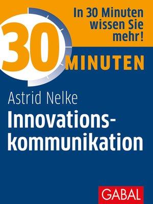 cover image of 30 Minuten Innovationskommunikation