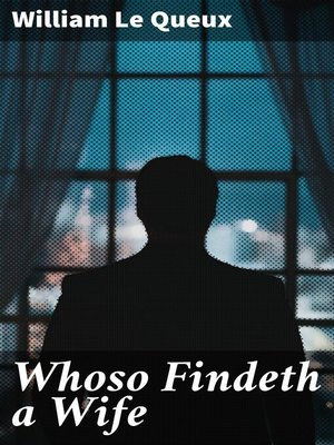 cover image of Whoso Findeth a Wife